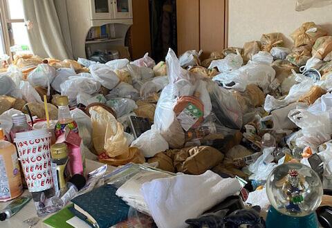 東京都港区N様のゴミ屋敷清掃