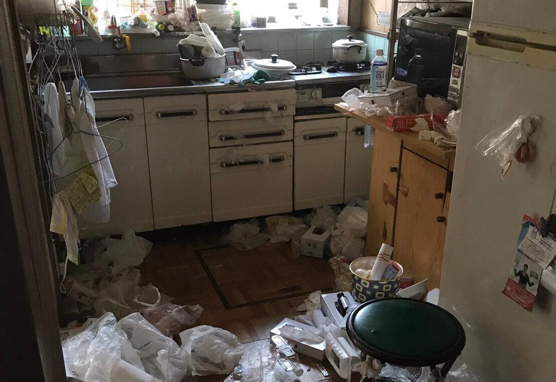 左京区HH様のゴミ屋敷清掃