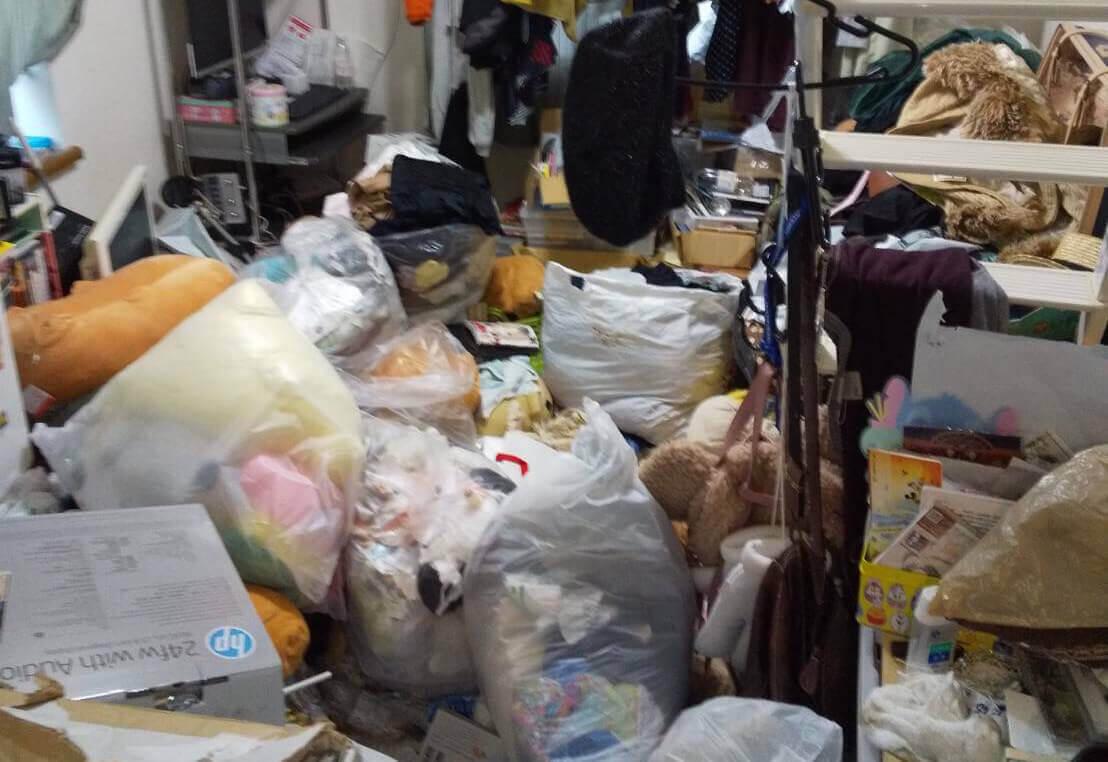 渋谷区I様のゴミ屋敷清掃
