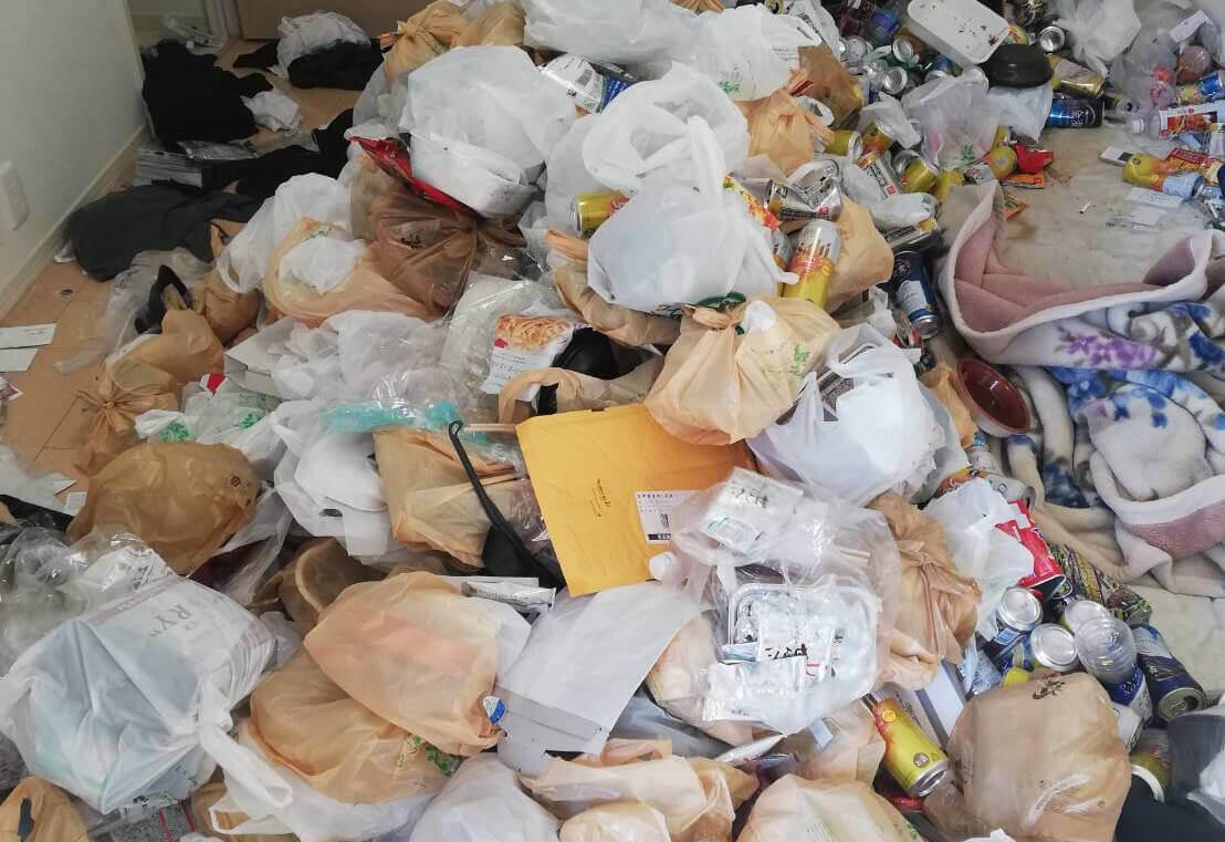 渋谷区T様のゴミ屋敷清掃