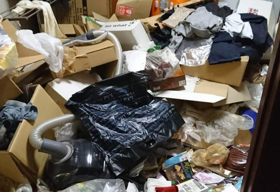 多摩区S様のゴミ屋敷清掃