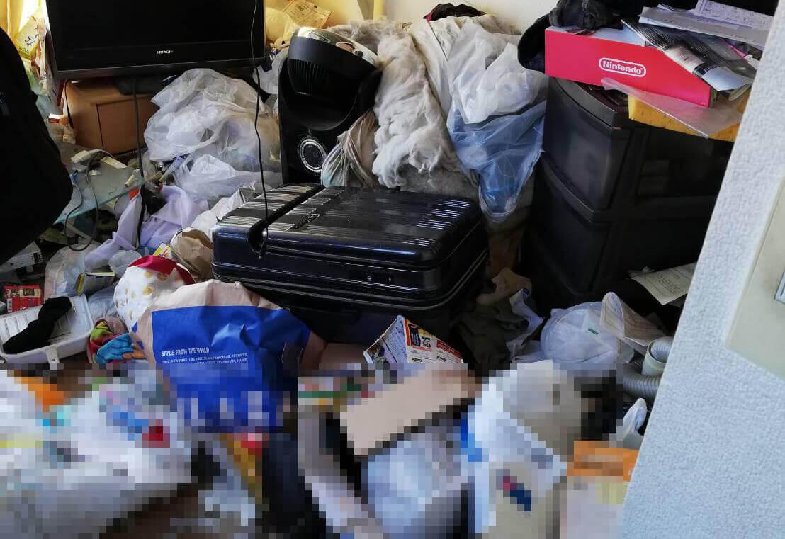 多摩区U様のゴミ屋敷清掃