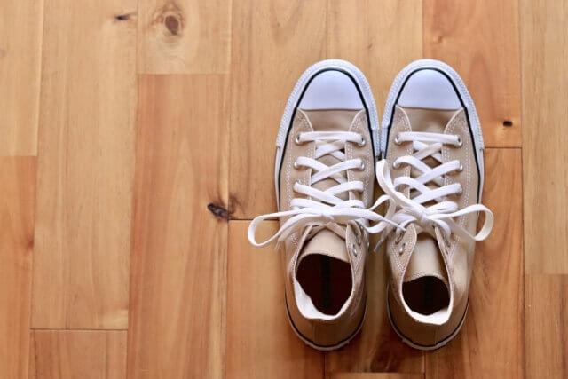 靴 処分 ブログ01