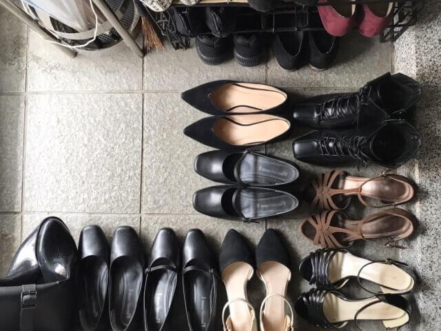 靴 処分 ブログ08