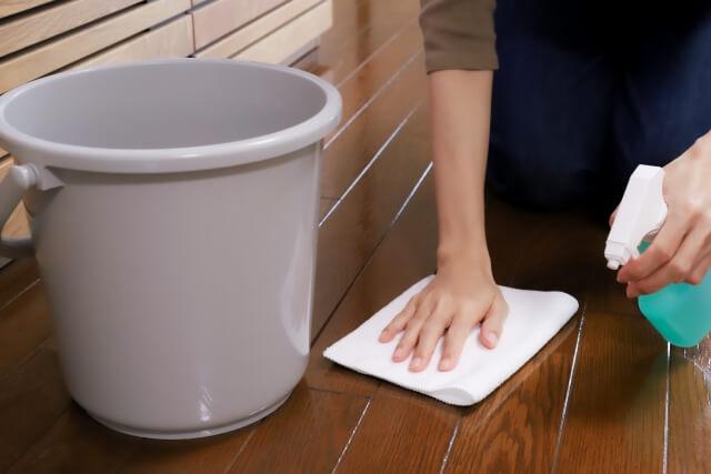 フローリング 掃除 ブログ10