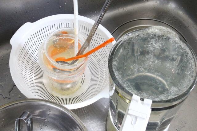 キッチン シンク 掃除 ブログ02