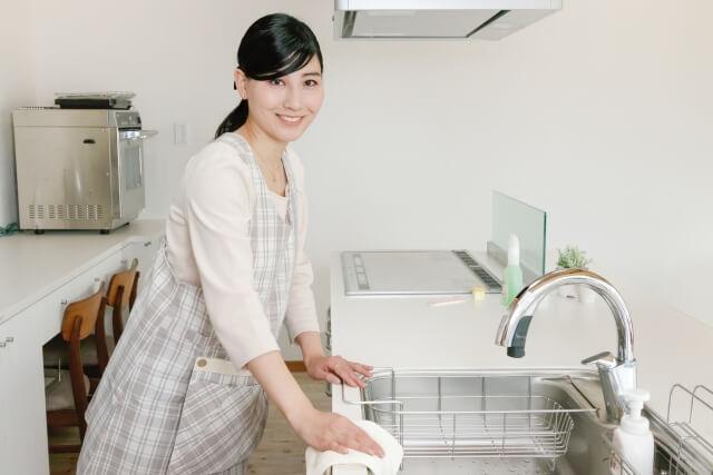 キッチン シンク 掃除 ブログ09