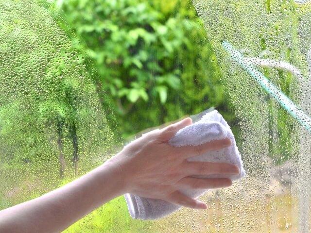 窓ガラス 掃除 ブログ03