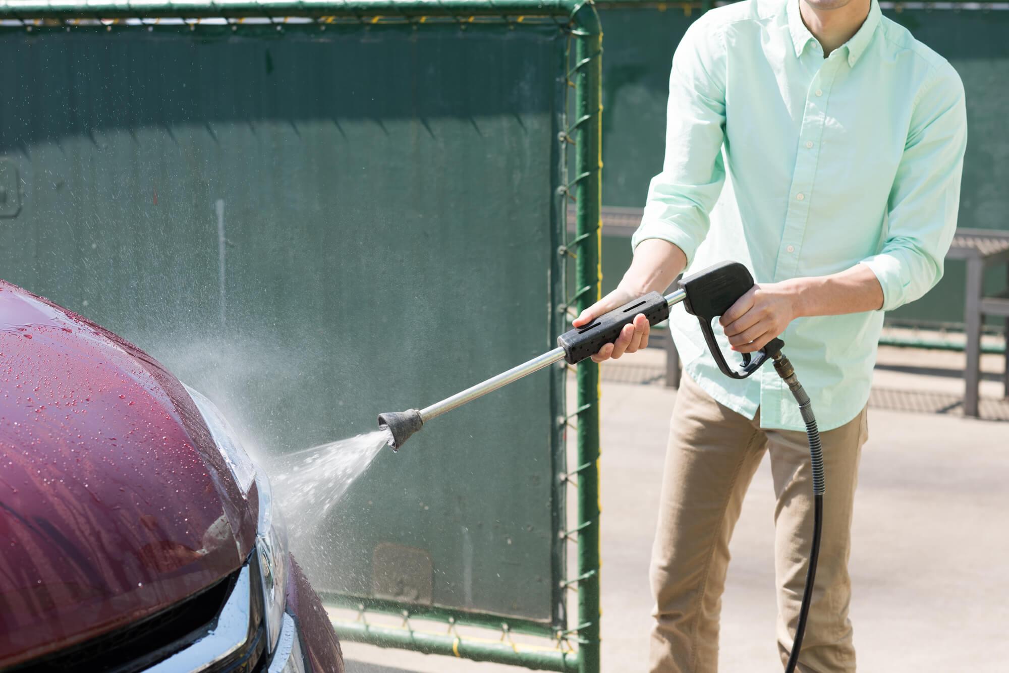 高圧洗浄機 洗車 ブログ06