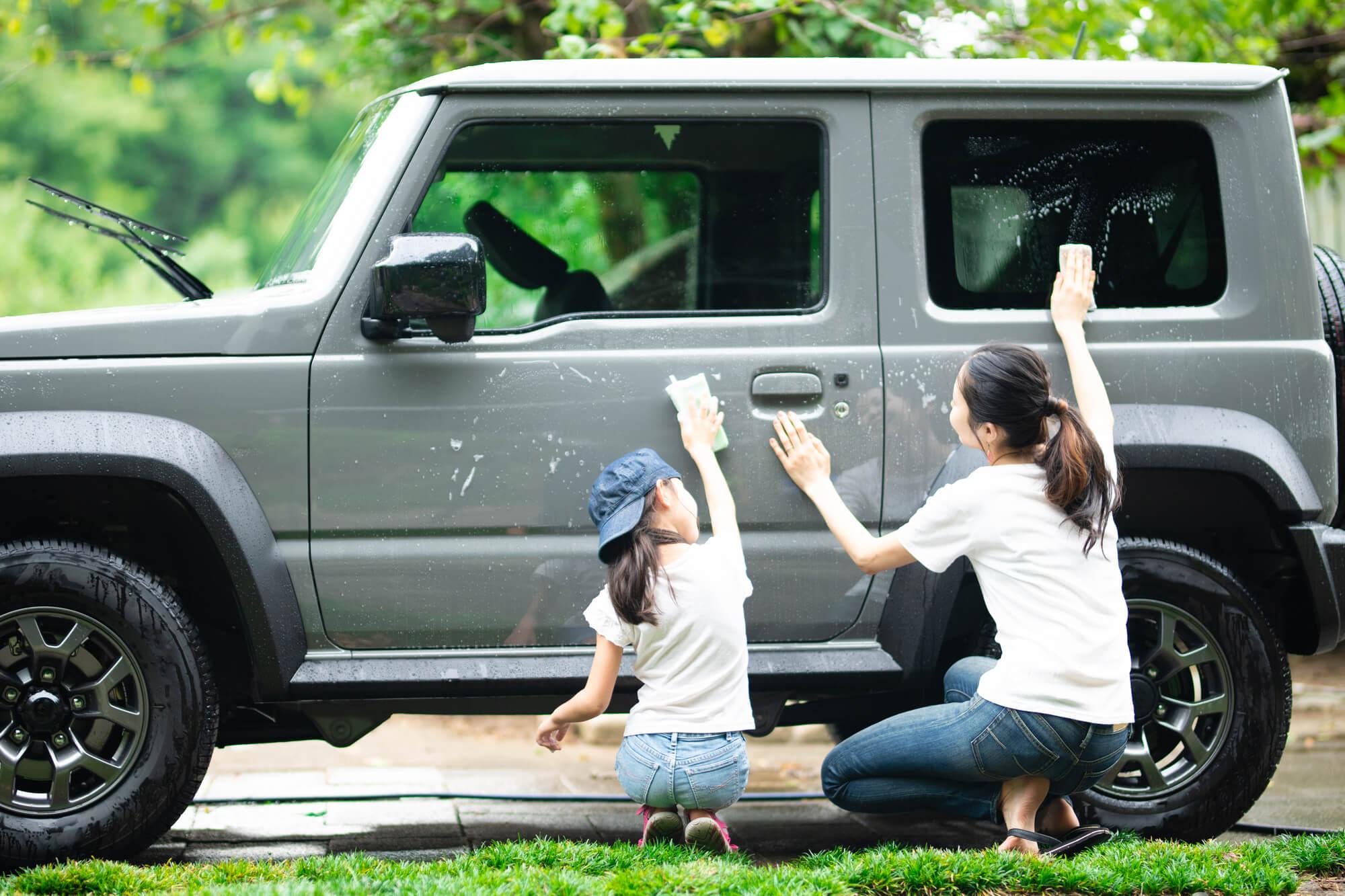 高圧洗浄機 洗車 ブログ07